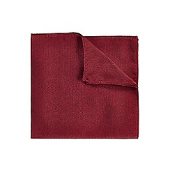 Burton - Red geo pocket square