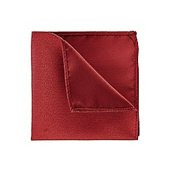 Burton - Red two tone pocket square
