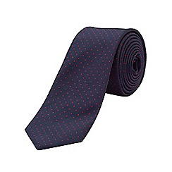 Burton - Red polka dot tie