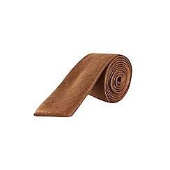 Burton - Camel wool effect tie