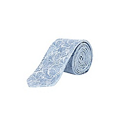Burton - Light blue floral tie