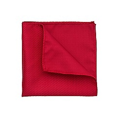 Burton - Red texture pocket square