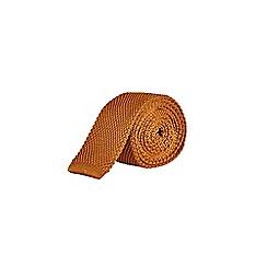 Burton - Rust knitted tie
