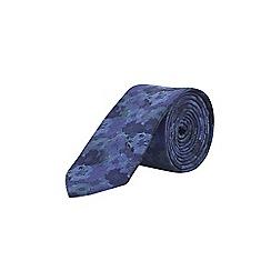 Burton - Navy camo print tie