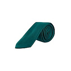 Burton - Green wool effect tie
