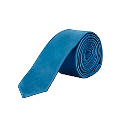 Burton - Slim bright blue tie