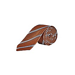 Burton - Rust striped tie