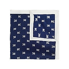 Burton - Montague burton navy pocket square