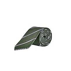 Burton - Khaki striped tie
