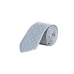 Burton - Light blue spot tie
