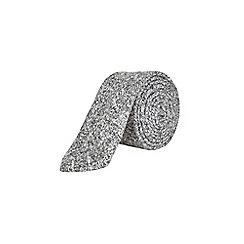 Burton - Light grey warm handle tie