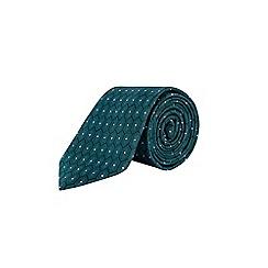 Burton - Green Montague Burton geometric print tie