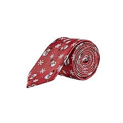 Burton - Snowman novelty tie