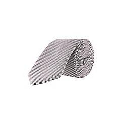 Burton - Cream Montague Burton dogtooth tie