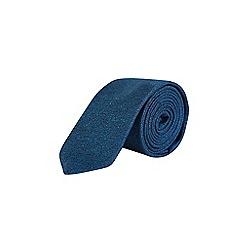 Burton - Teal textured party tie