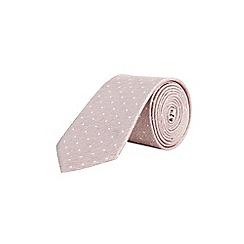 Burton - Light pink spot tie