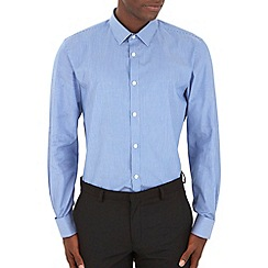 Burton - Tailored blue stripe shirt