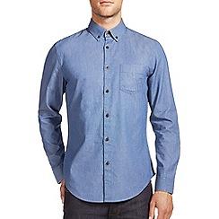 Burton - Blue print denim shirt