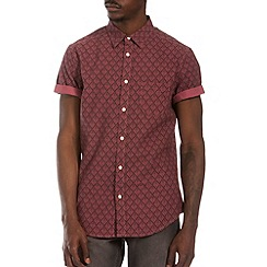 Burton - Pink all over print shirt