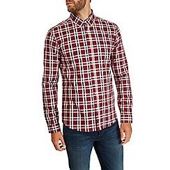 Burton - Long sleeve smart checked shirt