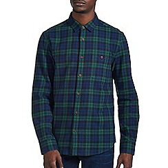 Burton - Green & navy check shirt