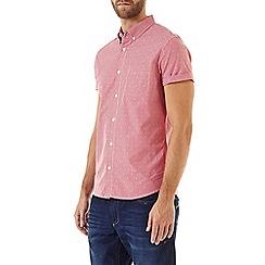 Burton - Short sleeve red check shirt