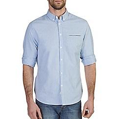 Burton - Blue & white stripe shirt