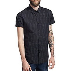 Burton - Black print shirt