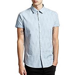 Burton - Blue print shirt