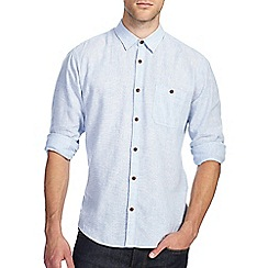 Burton - Light blue linen shirt