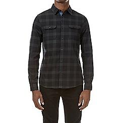 Burton - Black watch check long sleeve shirt