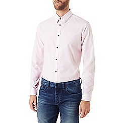 Burton - Long sleeve pink geo print shirt