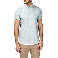 Burton - Mint short sleeve dobby shirt