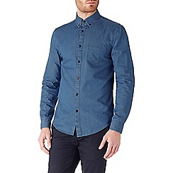 Burton - Long sleeve printed denim shirt