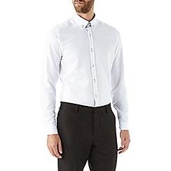 Burton - White double collared shirt