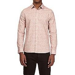 Burton - Pink long sleeve floral print shirt