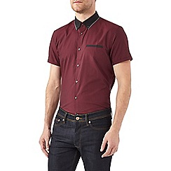Burton - Burgundy smart shirt