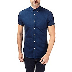 Burton - Blue short sleeve denim shirt
