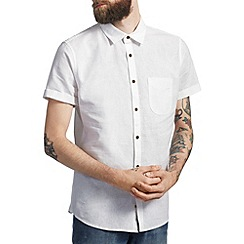 Burton - White linen shirt