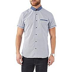 Burton - Blue dot print shirt
