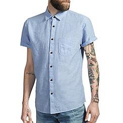 Burton - Blue linen shirt