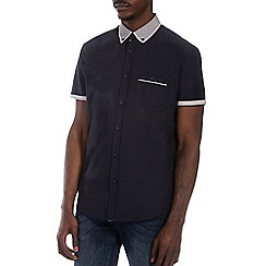 Burton - Navy smart shirt