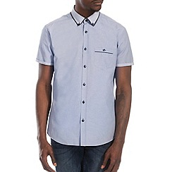 Burton - Blue check smart shirt