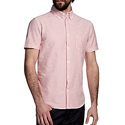 Burton - Red oxford stripe shirt