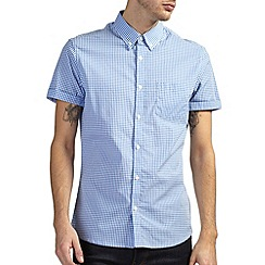 Burton - Light blue gingham check shirt
