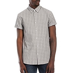 Burton - Black & white check shirt*