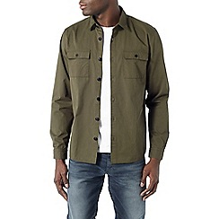 Burton - Khaki button overshirt