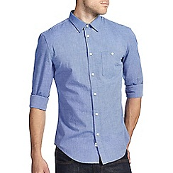 Burton - Blue plain shirt