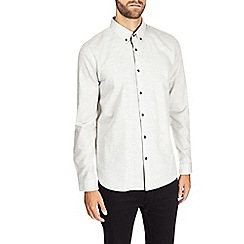 Burton - Montague burton grey melange shirt