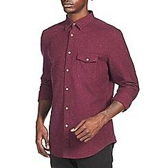 Burton - Burgundy texture shirt